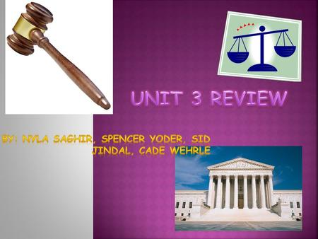  The Senate serves as a jury to impeach the President.  They ratify treaties made with other nations.  The Senate also approves and rejects.