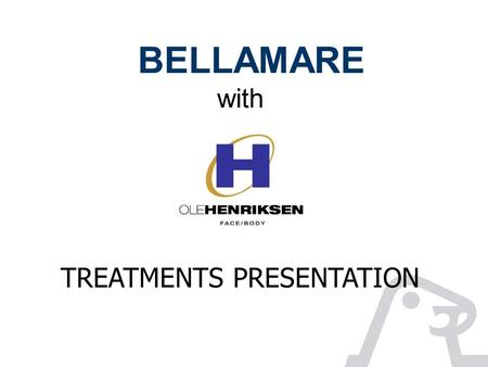 BELLAMARE with TREATMENTS PRESENTATION. BELLAMARE sauna & wellbeing Body treatments Rubb`n Buff Spa Salt Scrub This indulging scrub will pamper your body.