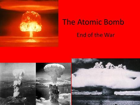 what factors likely motivated president truman to authorize the use of atomic bombs against japan in What political and military factors led president truman to order the of two atomic bombs and japan that ordered atomic bombs against japan.