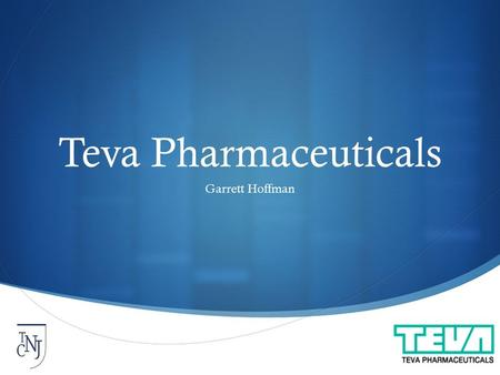  Teva Pharmaceuticals Garrett Hoffman. Agenda  Company Overview  Drivers and Trends  Valuation  Recommendation  WOOF Discusion.
