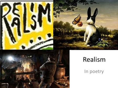 Realism In poetry. Stephen Crane (1871-1900) background.