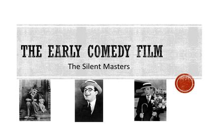 The Silent Masters. Vaudeville was a light-hearted variety show, popular in theaters from the late 1800s until around 1930. Growing out of working-class.