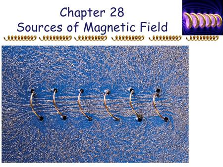 Chapter 28 Sources of Magnetic Field. 28-4 Ampère's Law Example 28-6: Field inside and outside a wire. A long straight cylindrical wire conductor of radius.