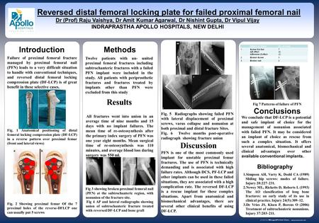 Www.postersession.com Failure of proximal femoral fracture managed by proximal femoral nail (PFN) leads to a very difficult situation to handle with conventional.