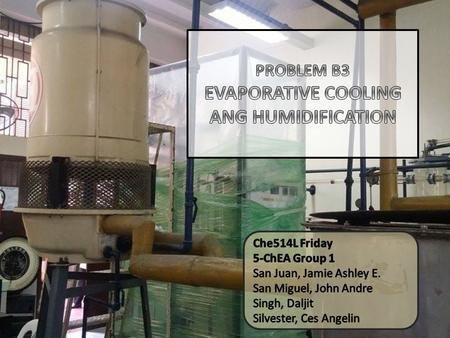 To apply the principles of humidification and evaporative cooling in the shell-and-tube heat exchanger-cooling tower network in the laboratory. To study.