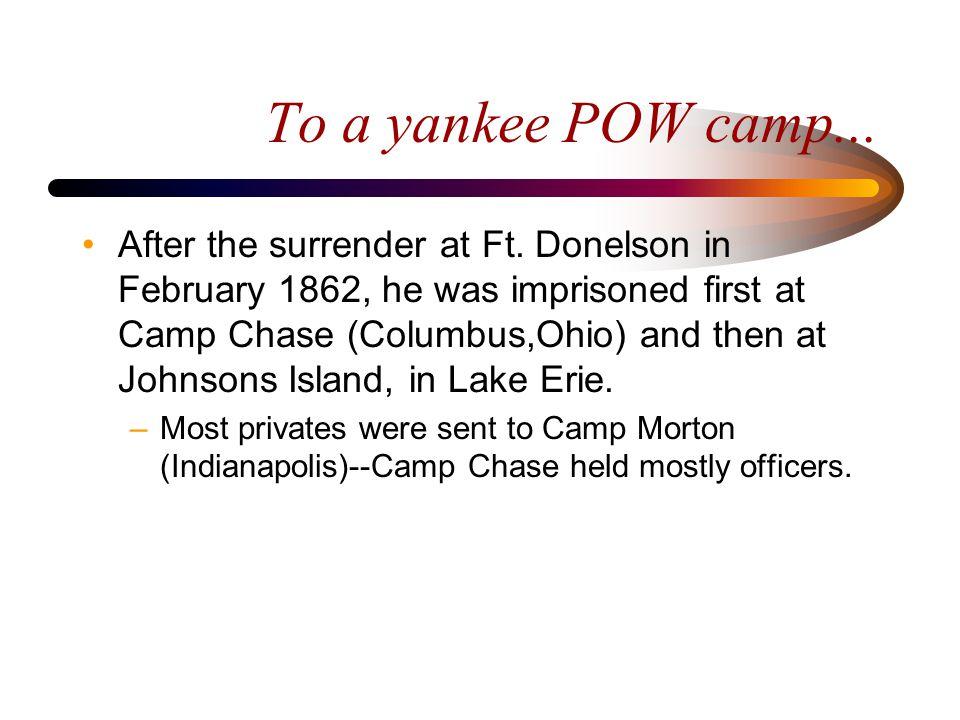 Camp Chase--Columbus, Ohio