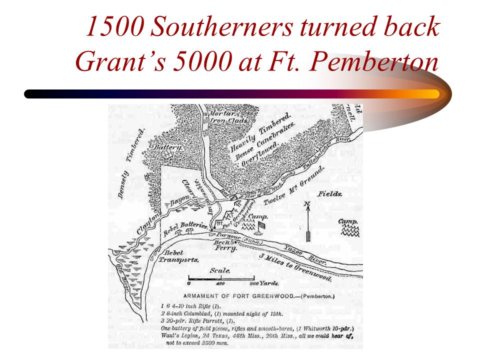 Chasing Grierson's raiders His regiment was mounted as mule cavalry in a bootless search for Grierson during the most famous yankee cavalry raid (600 miles from Lagrange, Tennessee to Baton Rouge, Louisiana)