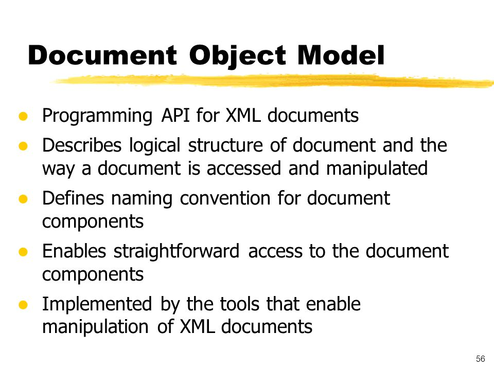 57 Document Object Model - Example