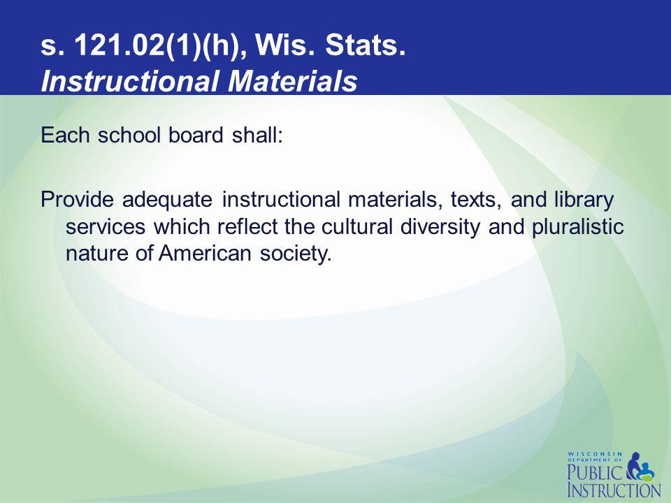 s.121.02(1)(L)4, Wis. Stats.