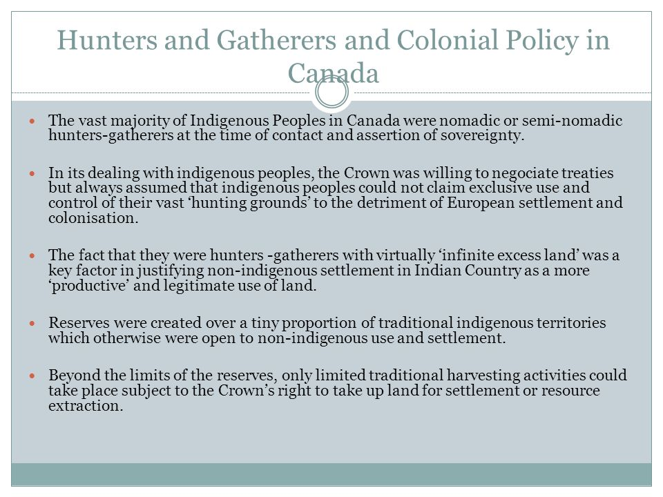 Hunters and Gatherers in the Colonial Common Law: Low on the Scale of Social Organisation Re Southern Rhodesia, 1919 A.C.