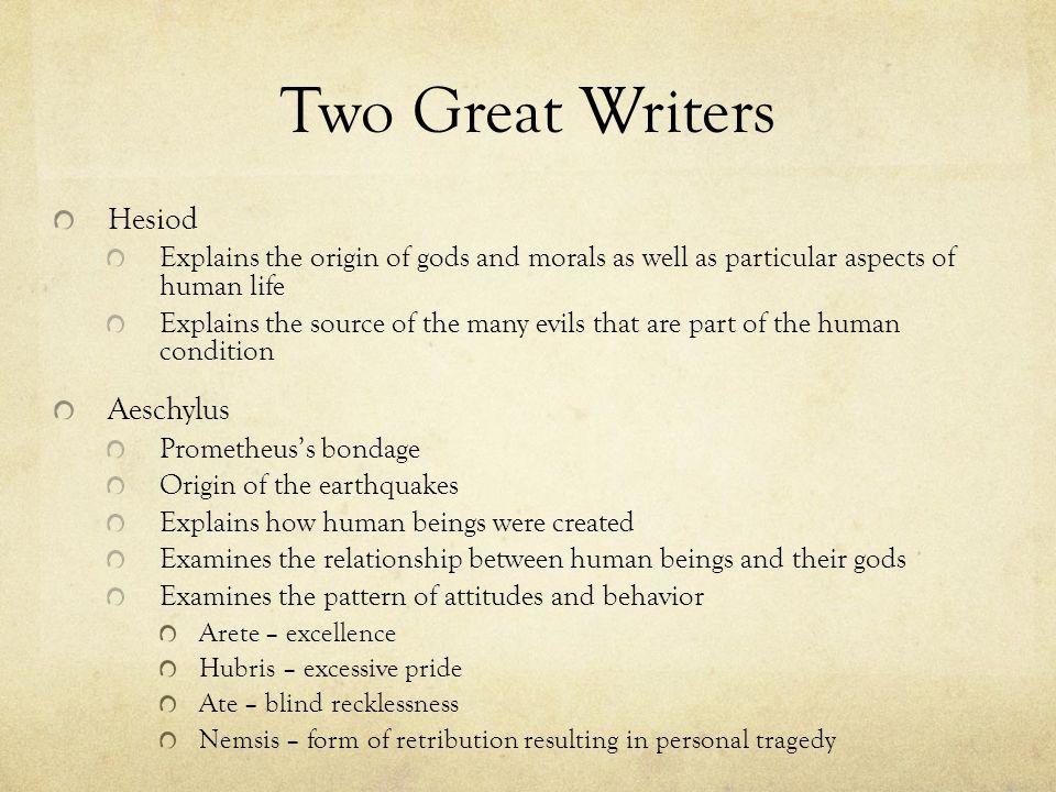 Characters in the story. Prometheus Zeus Pandora Gods Mortal Humans