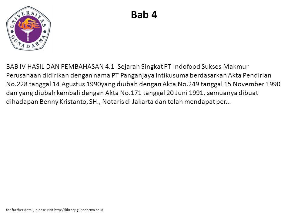 Bab 5 BAB V PENUTUP 5.1 Kesimpulan 1.Tidak ada pengaruh produk terhadap diferensiasi.