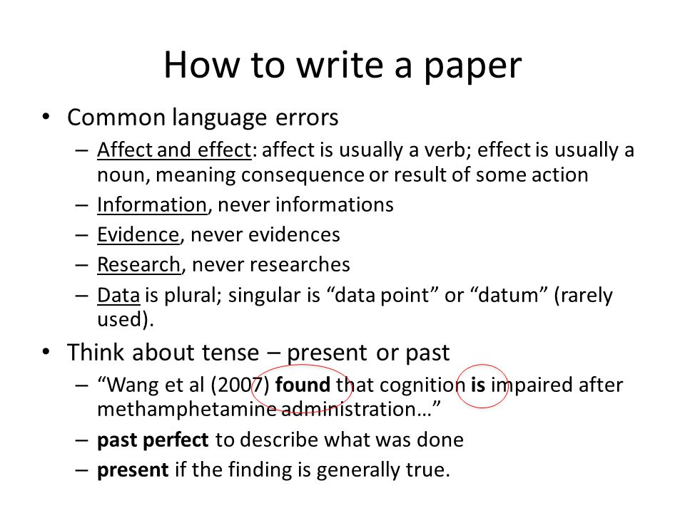 How to write to the editor Be brief – it is enough just to say: – We wish to submit our paper entitled… for publication in … Remember that the editor will read the abstract to understand the content of the paper – If you need to explain your work in the letter to the editor, then you have not written the abstract clearly!