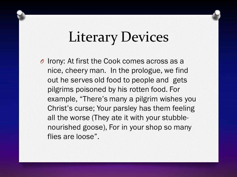 Literary Devices Continued O Figurative language: a.
