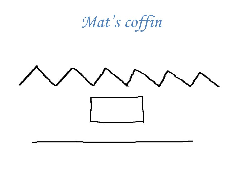 Mat in the coffin