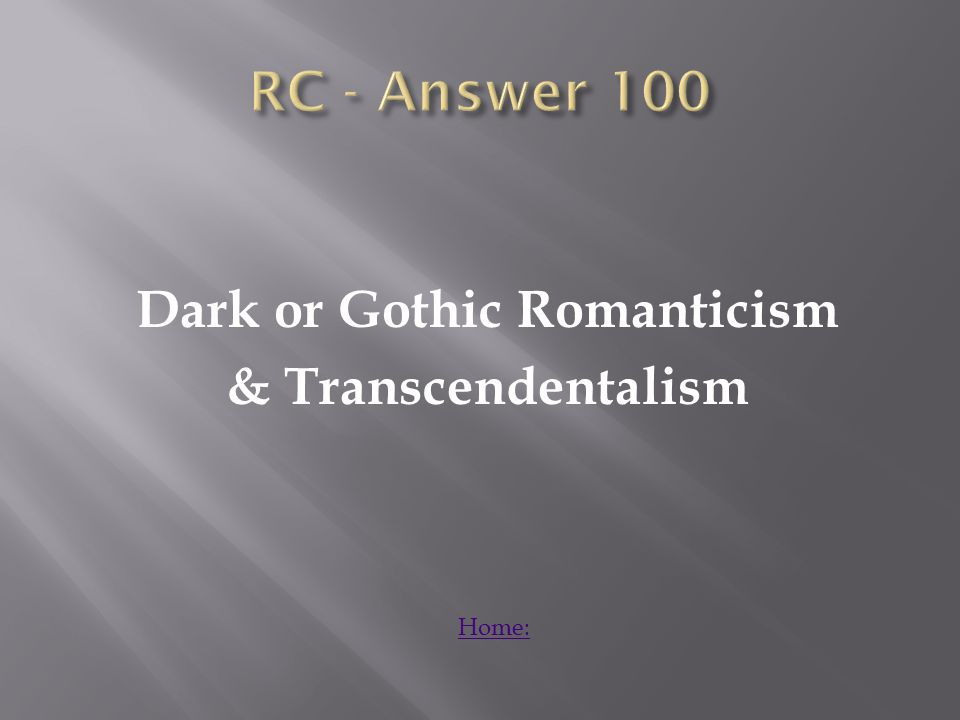 What is the time period for the entire Romanticism time period? Answer: