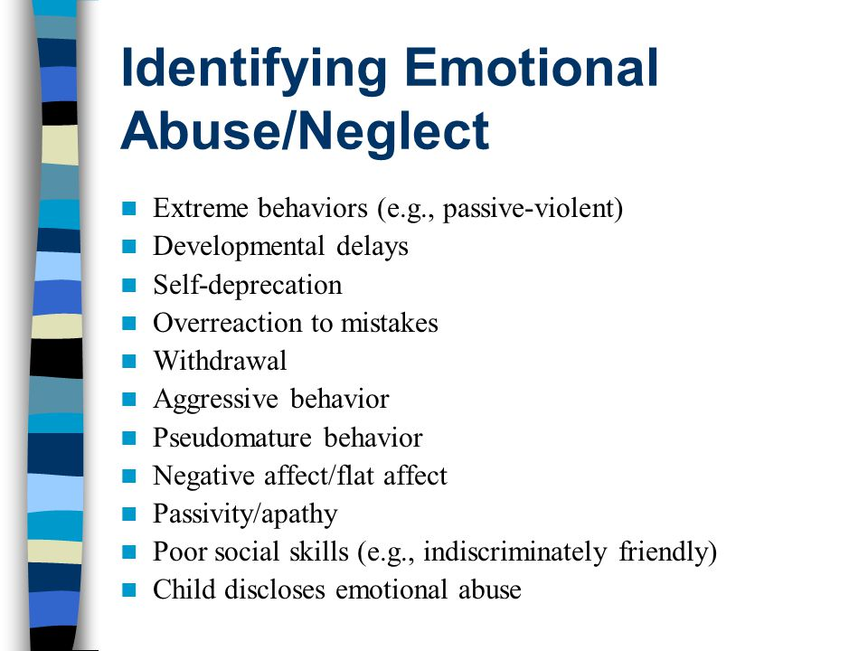 Something Is Wrong Indicators Anger/irritability Symptoms of depression/anxiety Sudden changes in behavior Sudden changes in school performance Loss of interest/social withdrawal Self-destructive behaviors Loss of energy Difficulty concentrating/attending Sudden change in activity level