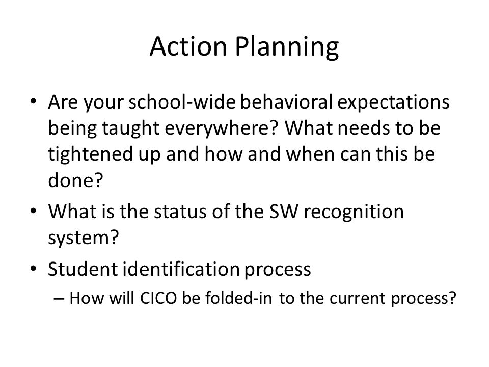 School Problem-Solving Process What is the current process in place at your school for teachers to receive support with students.