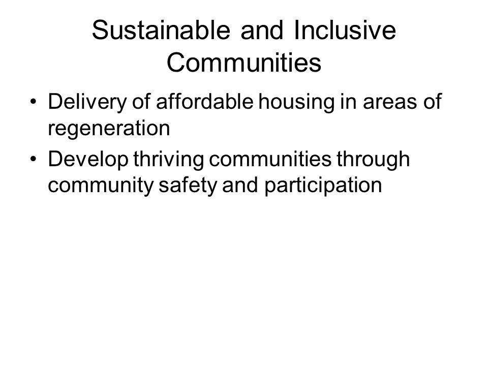 Sustainable and Inclusive Communities Regeneration of industrial area in Peterhead.