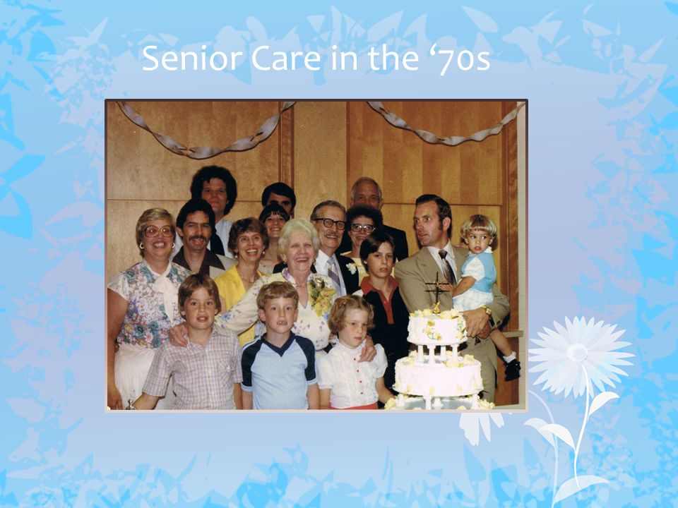 Senior Care-Giving Now