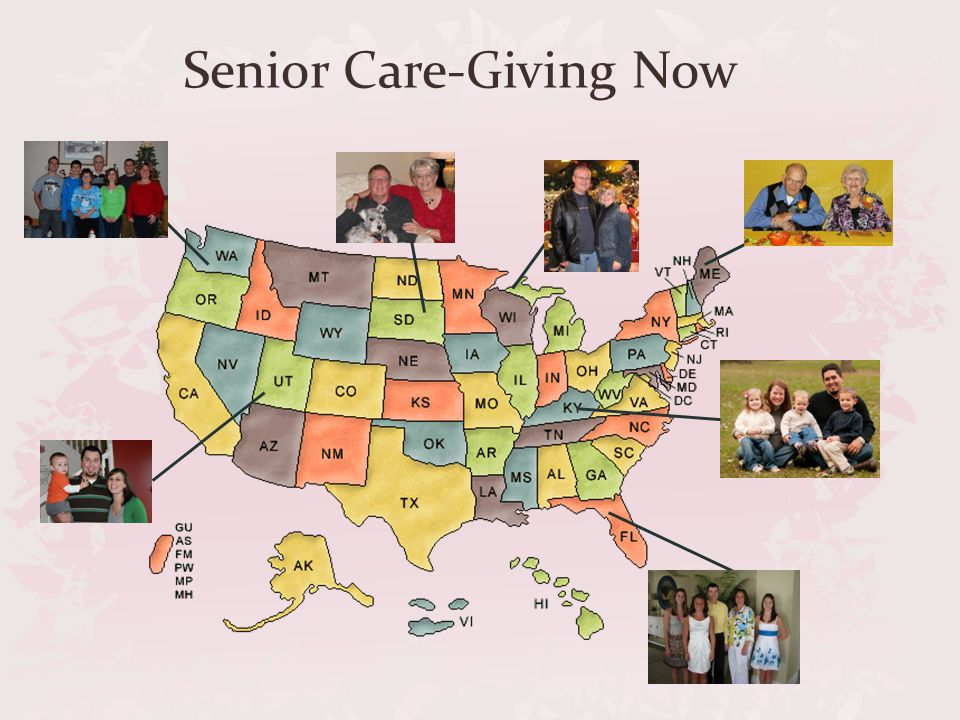 Changing Realities THENNOW  Pension  Hardening of the Arteries  Senility  Live with Family  Rest Home  401(k) IRA  Dementia  Alzheimer s  Home Health Care  Nursing Home
