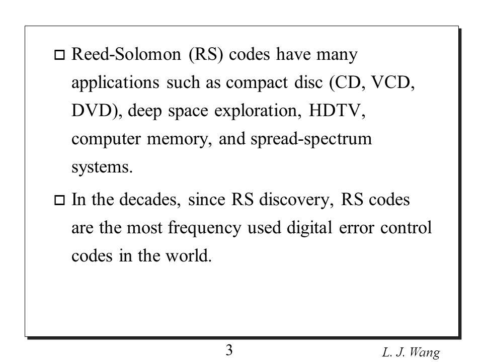 L. J. Wang 4 Effect of Noise
