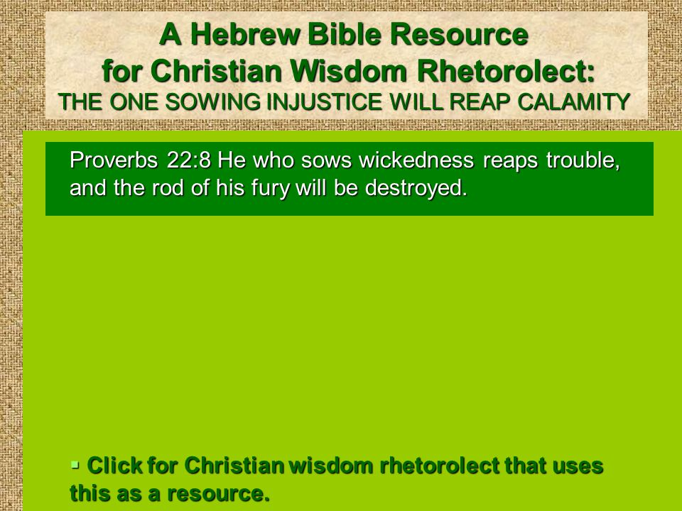 Christian Wisdom Rhetorolect: THE ONE SOWING BOUNTIFULLY WILL REAP BOUNTIFULLY 2 Corinthians 9:6 Remember this: he who sows sparingly will also reap sparingly.