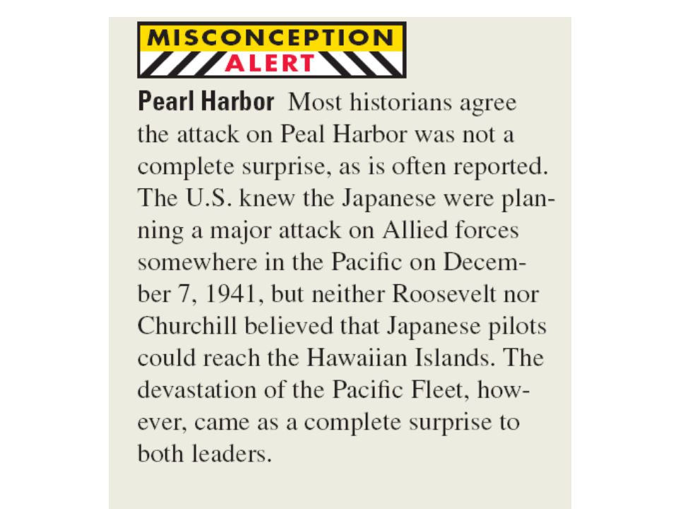 The Main Idea After early defeats in the Pacific, the United States gained the upper hand and began to fight its way island by island to Japan.