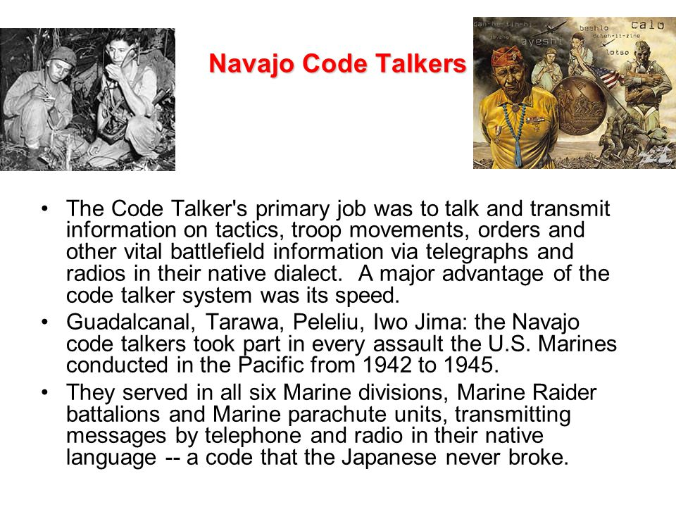 World War II: Navajo Code Talkers in the United States Military (02:33)