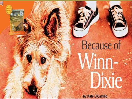 Because of Winn Dixie Week 21 Day 1  Do you think Opal and Miss Franny will become friends?