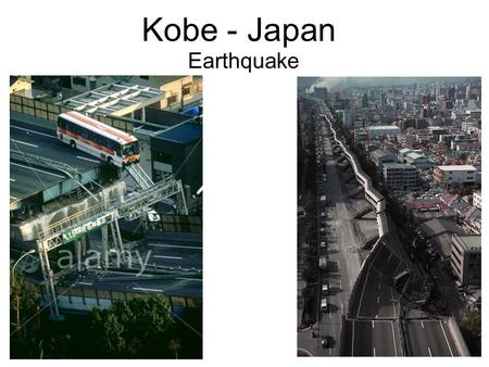 Kobe - Japan Earthquake. History Background 17 th January 1995 5.46 am local time 7.2 magnitude on the Richter scale Lasted 20 seconds Philippine plate.
