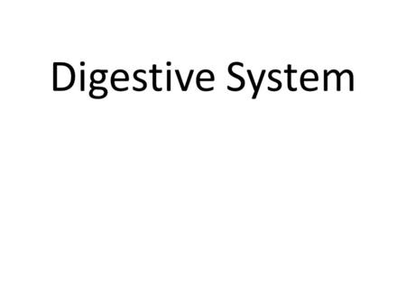 "Digestive System. 6 Types of Nutrients 1.Title the next page in your toolkit ""6 Types of Nutrients"" 2.Make a small copy of the key to the right in the."