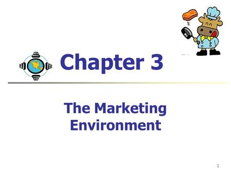 1 Chapter 3 The Marketing Environment. Jian Hong SHAO USTB Concept Connections Describe the environmental forces that affect the company's ability to.