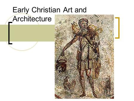 Early Christian Art and Architecture. Early Christians Found Themselves Scapegoats for Rome The famously evil Roman emperor Nero had Christians tortured.