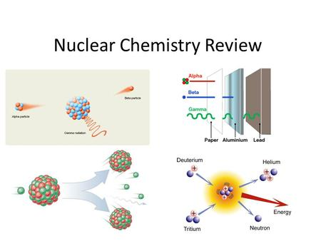 Nuclear Chemistry Review. Isotopes of atoms can be stable or unstable. Stability of isotopes is based on the number of protons and neutrons in its nucleus.