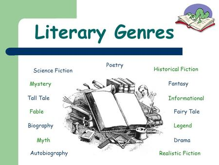 Literary Genres Poetry Science Fiction Historical Fiction Mystery