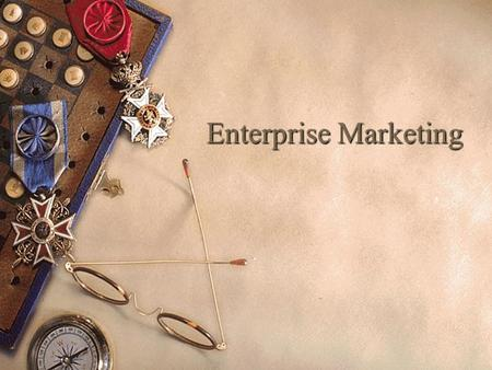 Enterprise Marketing Ethics in Marketing Definition:  Principles and standards that define acceptable conduct of marketing efforts.