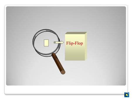 Flip-Flop Flip-flops Objectives Upon completion of this chapter, you will be able to :  Construct and analyze the operation of a latch flip-flop made.
