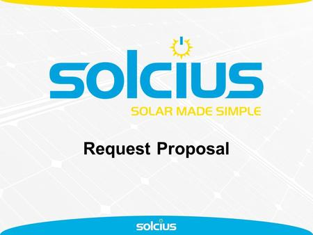 "Request Proposal. Proposal Request Process The Proposal Request Process has been included in the online ""Forms"" with the purpose of: - Speeding up the."