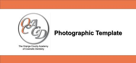 Photographic Template. Photographic Presentation (i.e. name, date, etc)