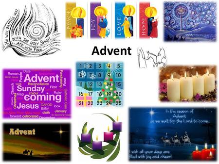 Advent. What is Advent? Advent is a time of preparation. What does that mean? Who are we as Christians preparing for? What are we preparing for? Why is.