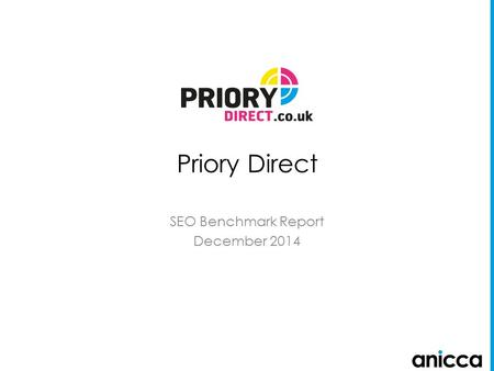 Priory Direct SEO Benchmark Report December 2014.