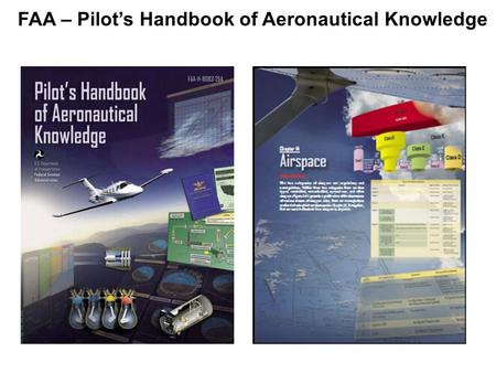 FAA – Pilot's Handbook of Aeronautical Knowledge