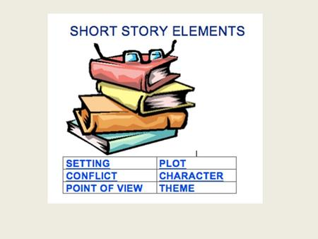 Short Story Elements SETTING -- The time and location in which a story takes place is called the setting. For some stories the setting is very important,