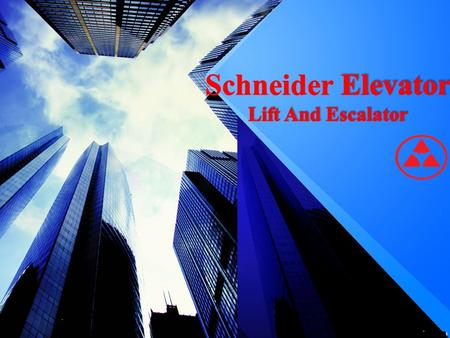 Schneider Elevator Lift And Escalator