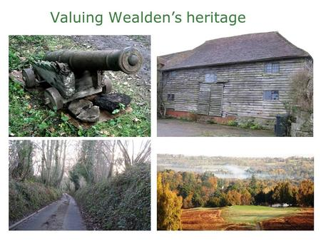 "Valuing Wealden's heritage. National Planning Policy Framework Sets out the planning policies for England and how these are to be applied. ""The purpose."