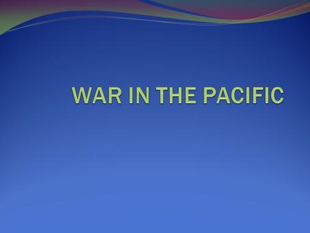 JAPANESE EXPANSION Japan attacked Pearl Harbor to prevent the U.S. from stopping Japan's aggressive expansion in the Pacific. By 1942 Japan had taken.