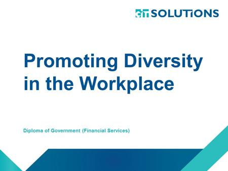 promoting workplace diversity
