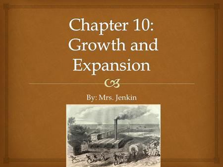 By: Mrs. Jenkin. The rise of industry and trade led to the growth of cities.