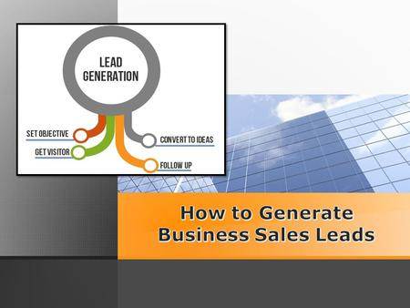 Set a Scheduled to Lead Generation Every sole day, block out a hour (or more) on your current calendar which will be used strictly pertaining to lead.